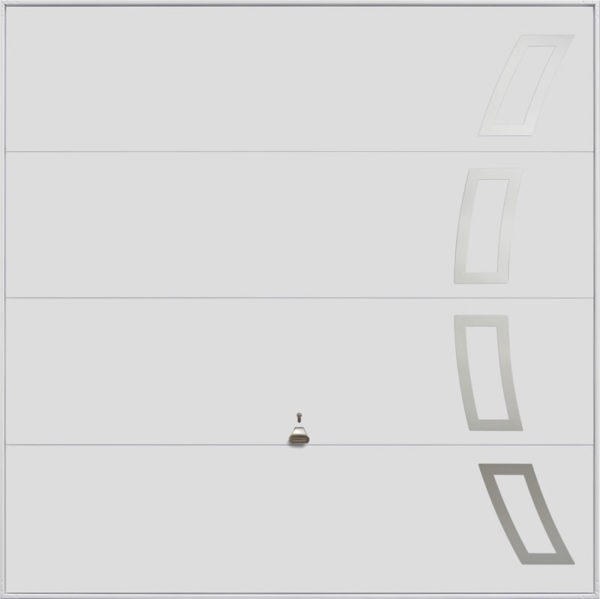 Garador Up and Over Design Range 104_White