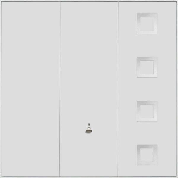 Garador Up and Over Design Range 201_White