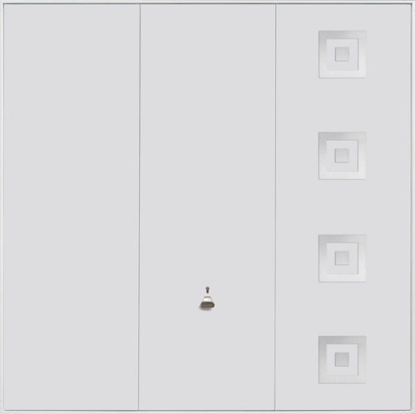 Garador Up and Over Design Range 203_White