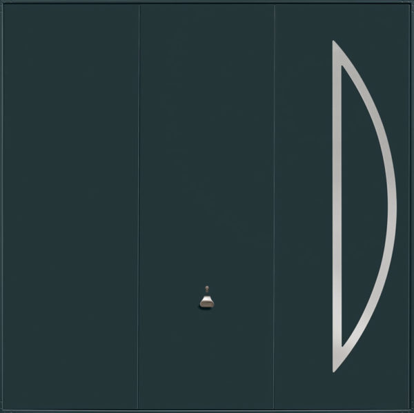 Garador Design Range _211_Anthracite Grey