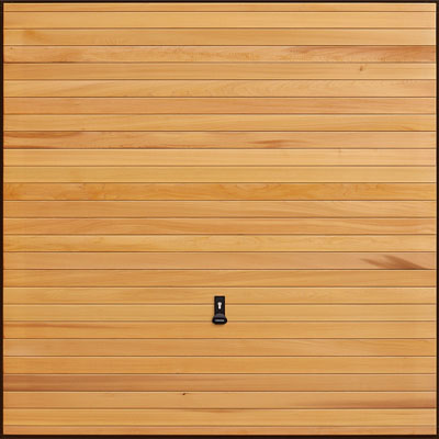 Garador Up and Over Timber_Horizontal Cedar
