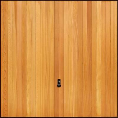 Garador Up and Over Timber_Vertical Cedar