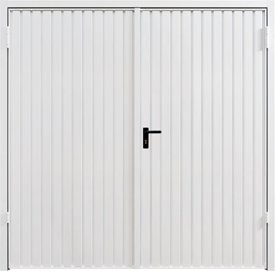 Garador side hinged carlton_white