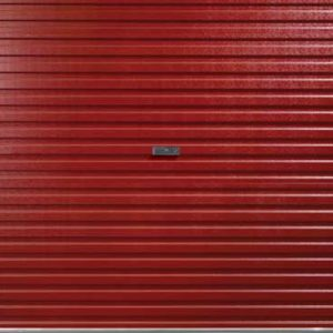 GlideRolDoor panel red handle