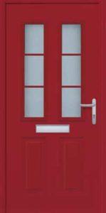 Garador FrontGuard front door FGS 200 white FGS 400 Ruby Red