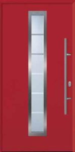 Garador FrontGuard front door FGS 700 Ruby Red
