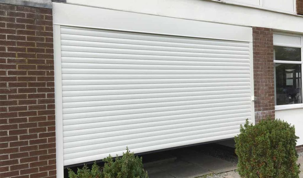 New roller door installation