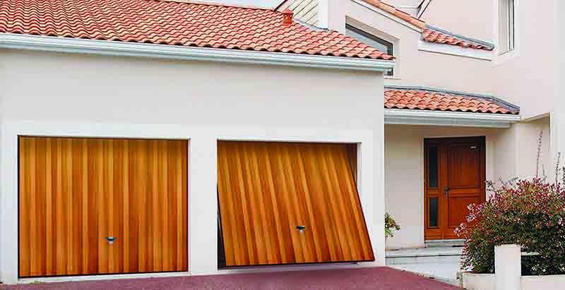 Novoferm retractable up and over doors